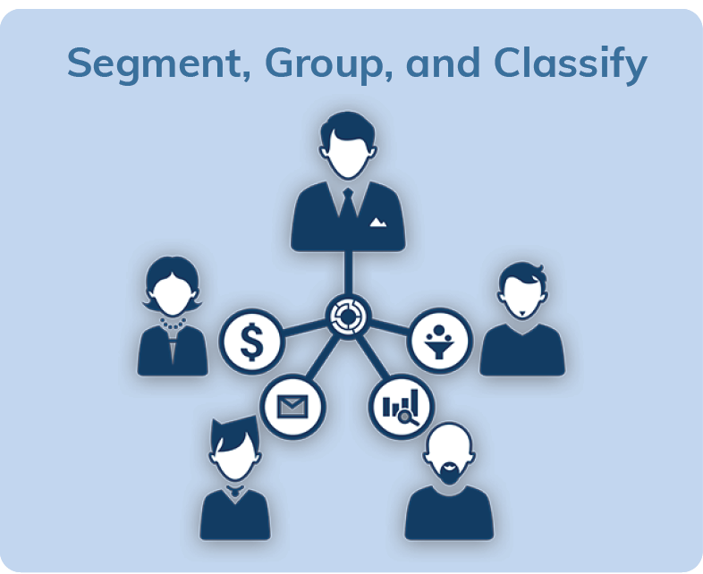 Segment, Group, and Classify