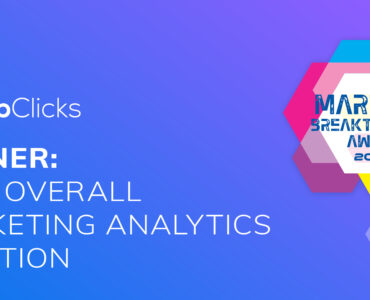 TapClicks: Winner Best Overall Marketing Analytics Solution