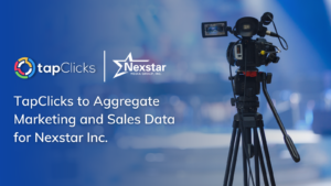 TapClicks to Aggregate Marketing and Sales Data for Nexstar Inc.