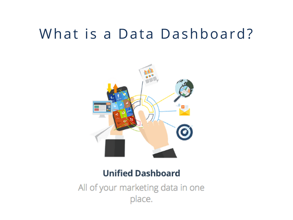What is a data dashboard unified Dashboard all of your marketing data in one place.