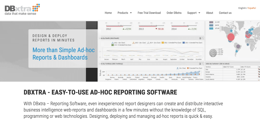 Best Reporting Tools #15: DBextra