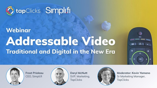 Addressable Video - Traditional and Digital in the New Era